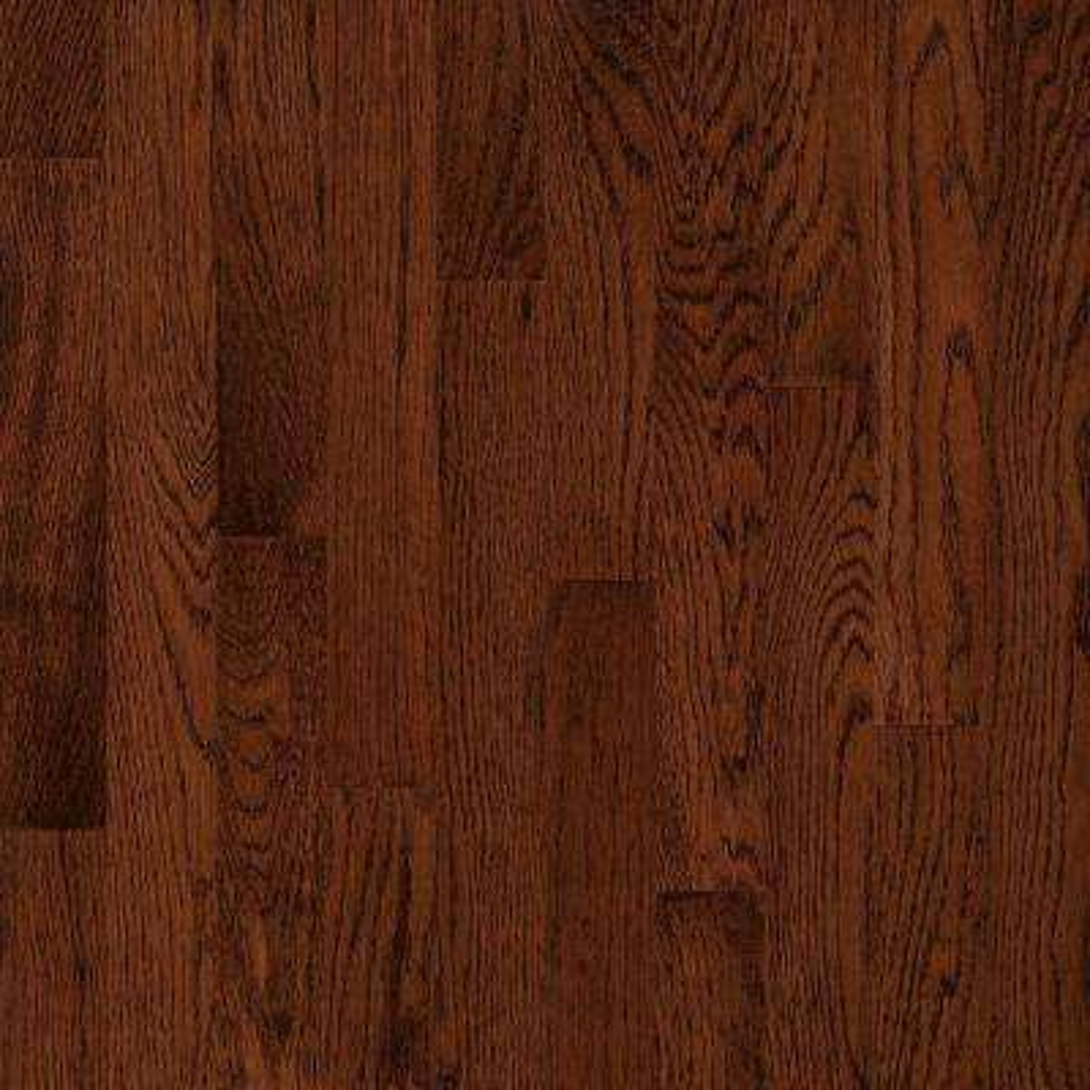 American Originals Deep Russet Oak 3/8 in. T x 3 in. W x Varying Length Eng Click Lock Hardwood Floor (22 sq. ft. /case)