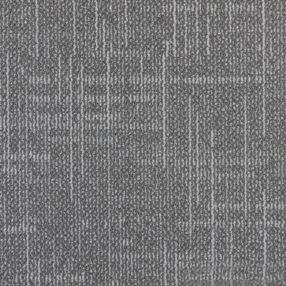 VENTURECARPETS VENTURE CARPETS Como Bellano Loop 19.68 in. x 19.68 in. Carpet Tiles (8 Tiles/Case)