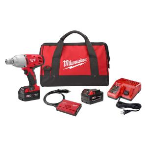 Click here to buy Milwaukee M18 18-Volt Lithium-Ion Cordless 7/16 inch Impact Wrench Kit W/(2) 3.0Ah Batteries, Charger, Hard Case by Milwaukee.