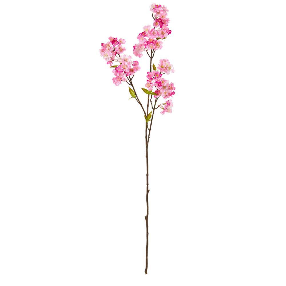 47 in. Cherry Blossom Artificial Flower Spray (Set of 4)