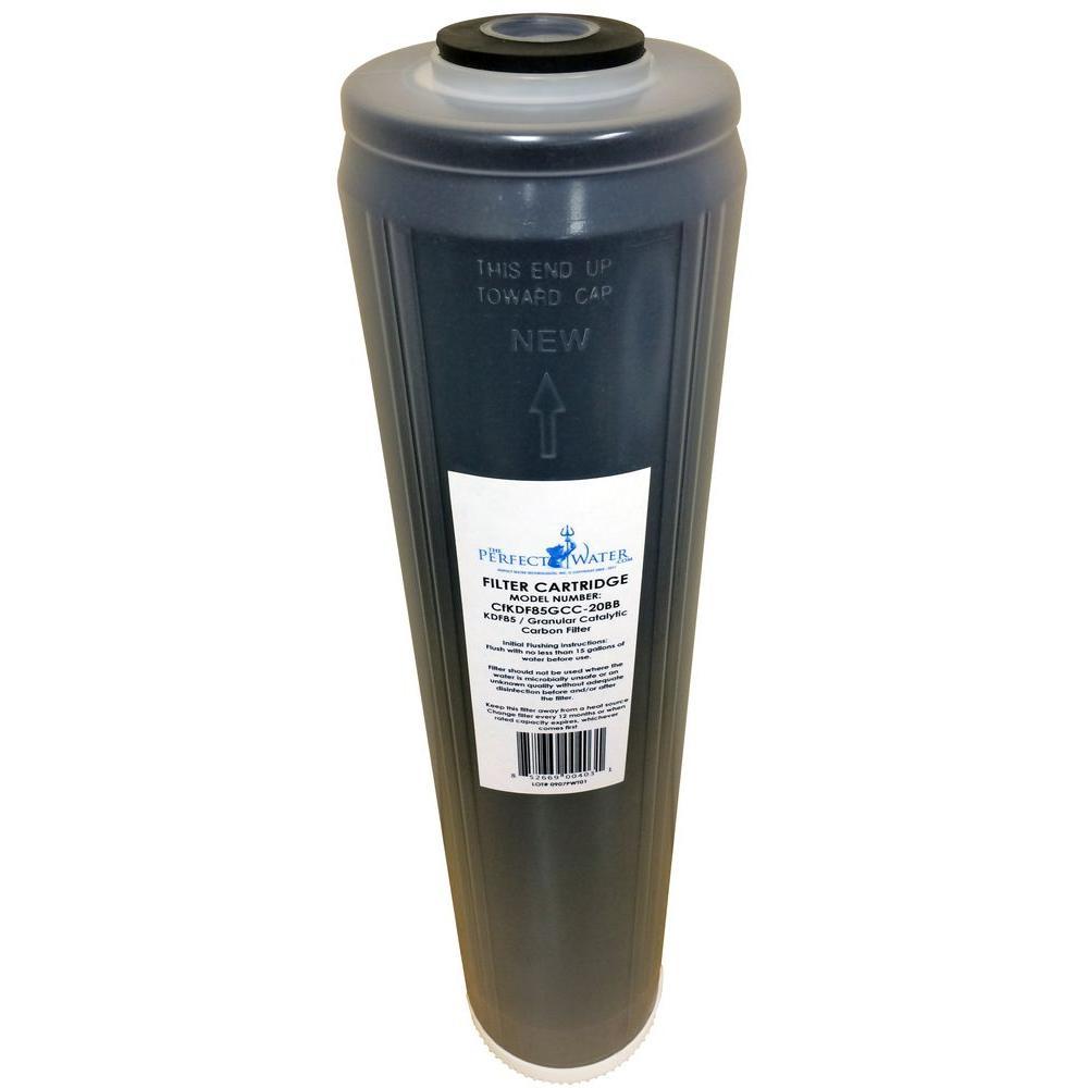 20 in. x 4.5 in. KDF85/Granular Catalytic Carbon Filter