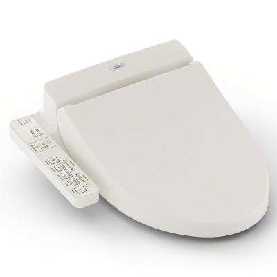 C100 Electric Bidet Seat for Round Toilet in Sedona Beige