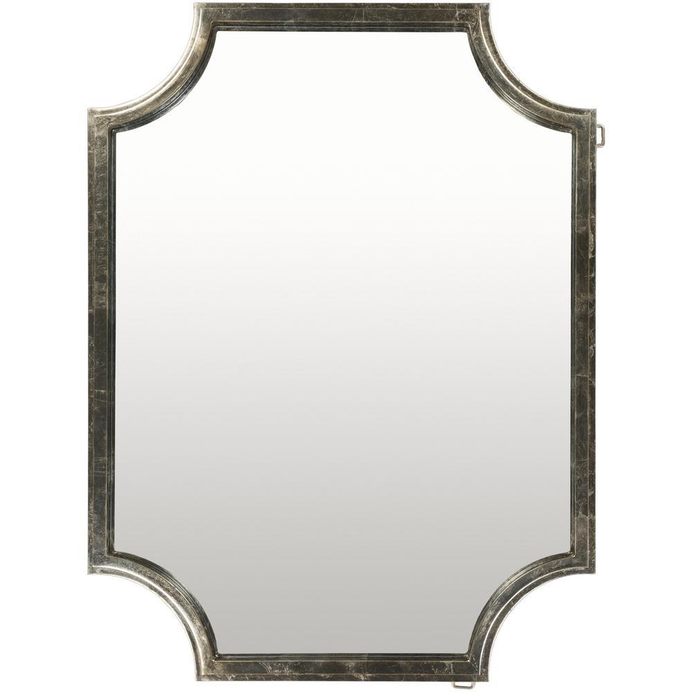 Koud 40 in. x 29.75 in. MDF Framed Mirror