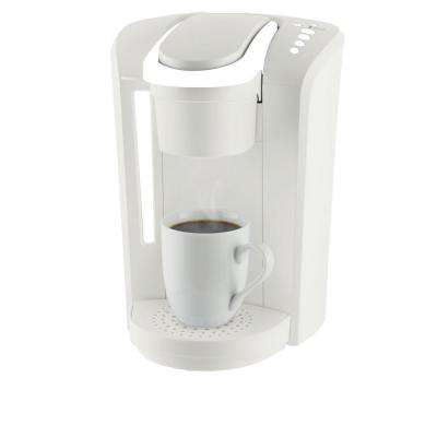White Single Serve Coffee Makers K-Select Brewer