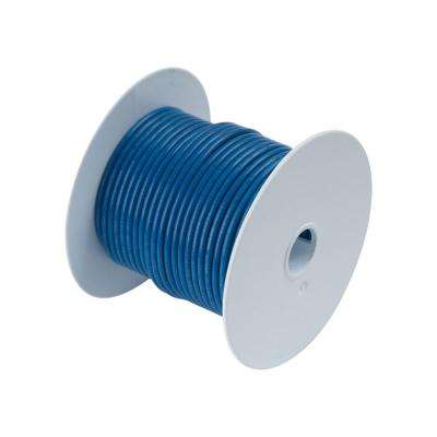 100 ft. 14 AWG Primary Wire Spool, Blue (Case of 5)