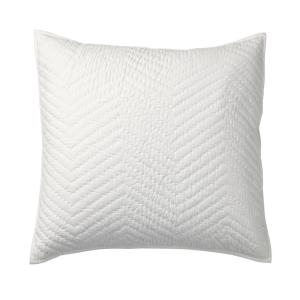 Company White Cotton Euro Sham