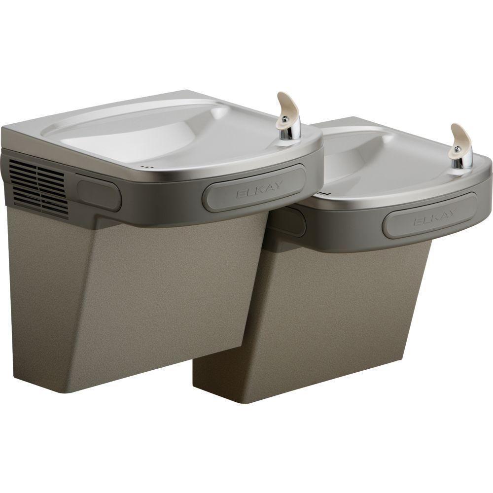 Charming Versatile Filtered Wall Mounted Bi Level ADA Drinking Fountain
