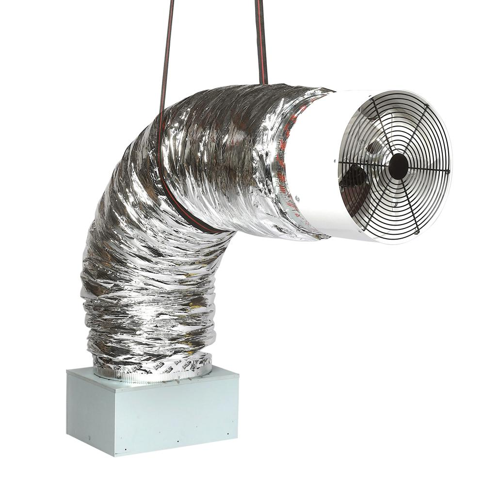 Deluxe 3300R 16in. Direct Drive Whole House Fans 2425 CFM (HVI-916