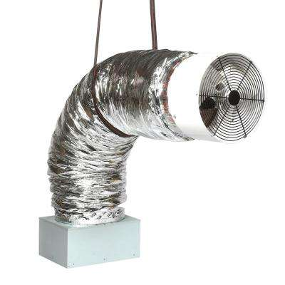 Deluxe 3300R 16in. Direct Drive Whole House Fans 2425 CFM (HVI-916 Certified Rating) R5 Damper & Wireless Remote Control