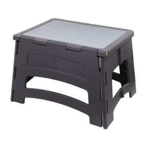 1-Step Plastic Stool with 300 lb. Load Capacity  sc 1 st  The Home Depot : compact step stool - islam-shia.org