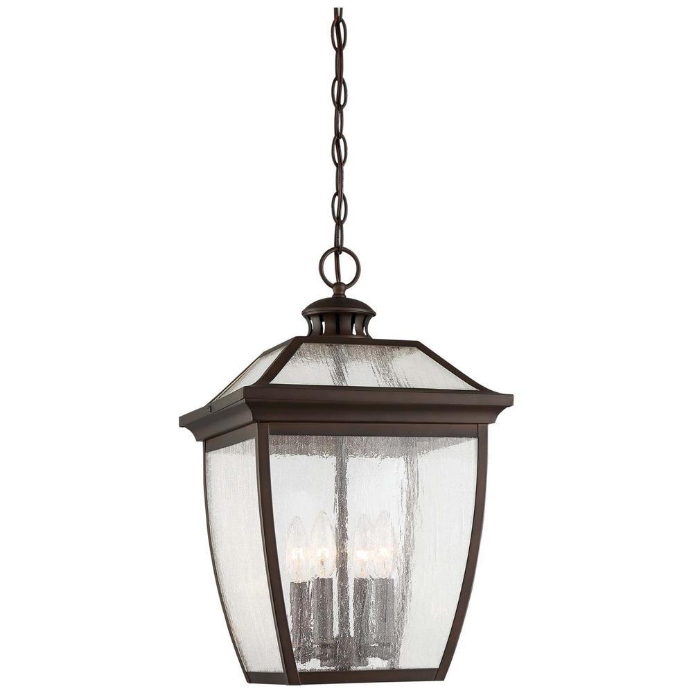 Sunnybrook Alder Bronze 4-Light Outdoor Hanging Lantern