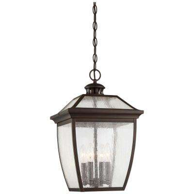 Sunnybrook Alder Bronze 4-Light Outdoor Hanging Lantern