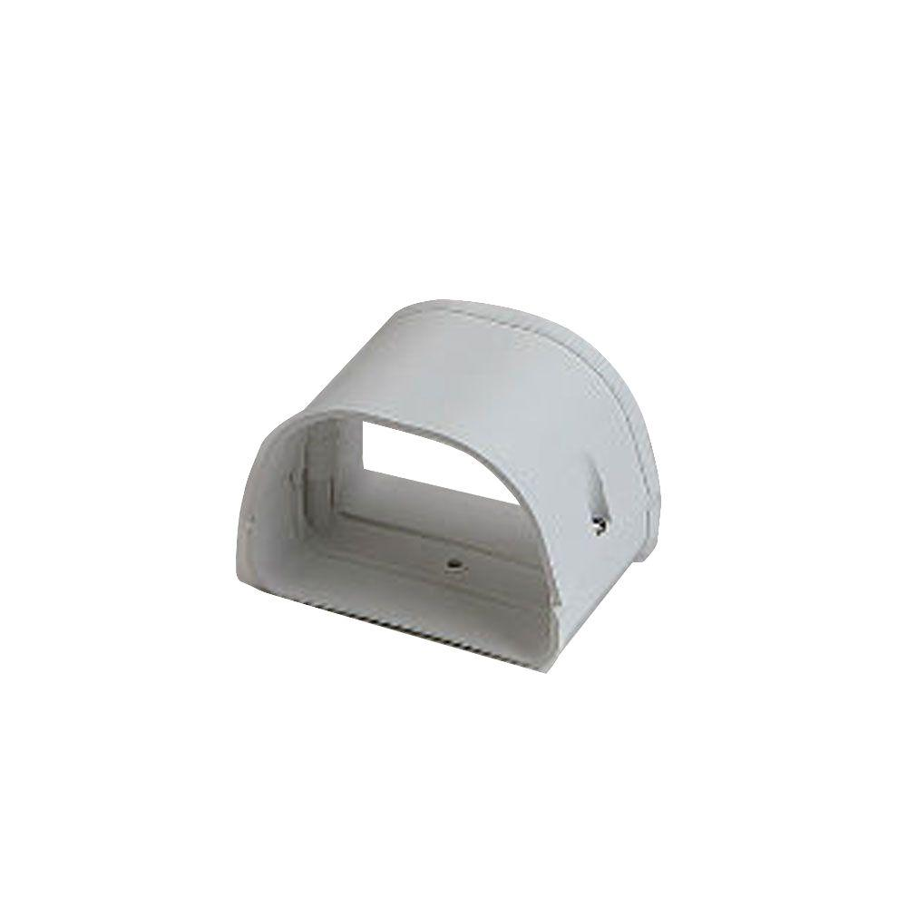 Fortress LJ92W 3-1/2 in. Coupler for Ductless Mini Split Cover