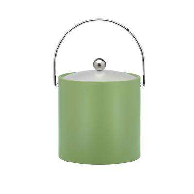Bartenders Choice Fun Colors Mist Green 3 Qt. Ice Bucket