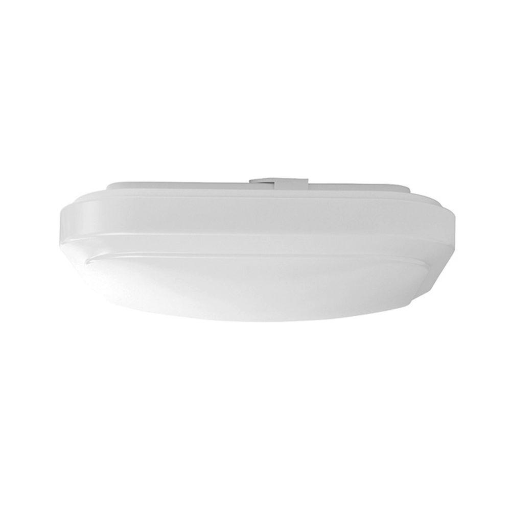12 in. Bright White Square LED Flushmount Ceiling Light Fixture Dimmable