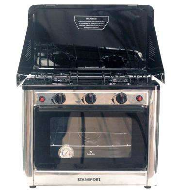 Propane Outdoor Camp Oven and 2-Burner Range