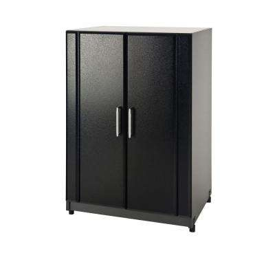 24 in. 2-Door Base Cabinet in Black