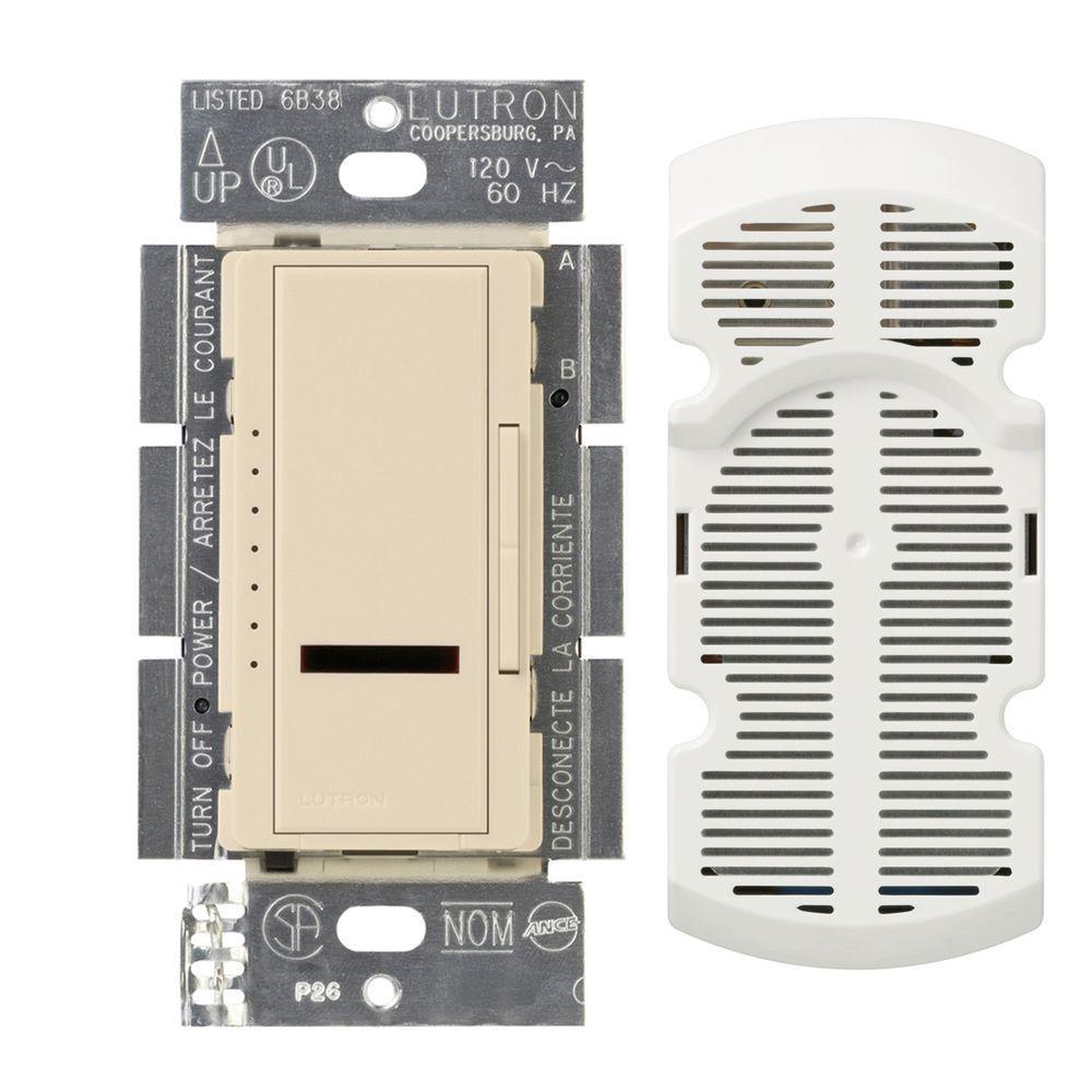 Maestro IR Multi-Location 7-Speed Digital Fan Control - Eggshell