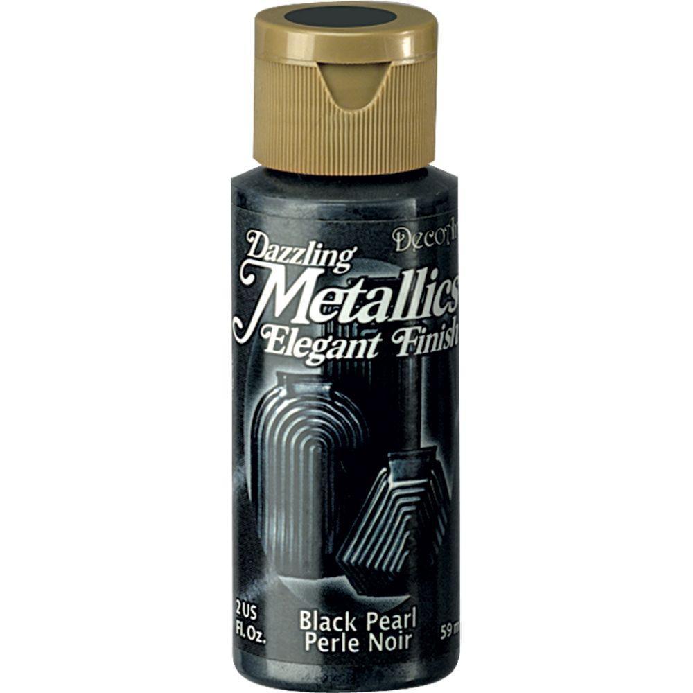 Dazzling Metallics 2 oz. Black Pearl Acrylic Paint