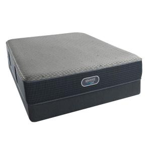 Beautyrest Silver Hybrid Seabright Harbor Queen Luxury Firm Low Profile Mattress Set by Beautyrest Silver