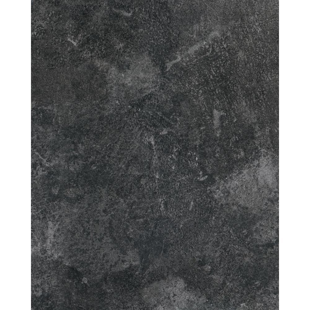 Slate Grey 26 in. x 78 in. Home Decor Self Adhesive Film