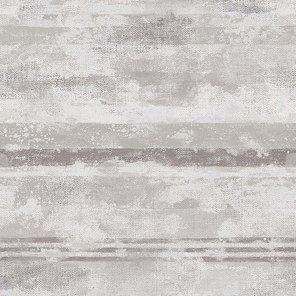 Advantage 8 in. x 10 in. Abigal Light Grey Stripe Wallpaper