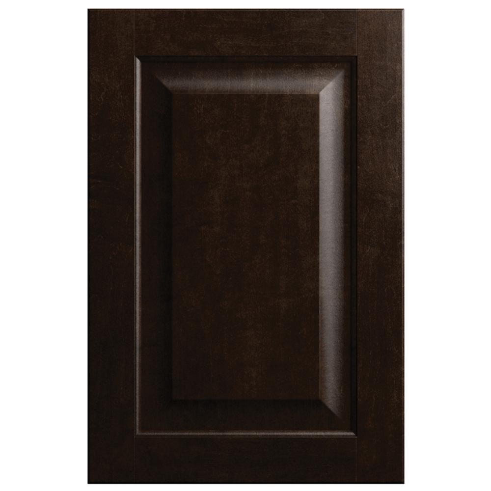 11x15 in. Gretna Cabinet Door Sample in Espresso