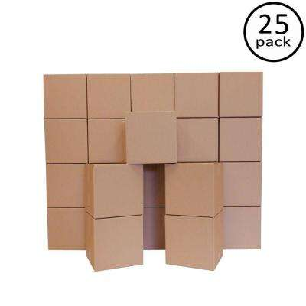 14 in. L x 14 in. W x 14 in. D Moving Box (25-Pack)