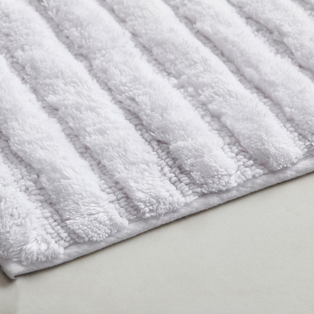 """21/"""" x 34/"""" Quick Dry Memory Foam Bath Rug Mat Aqua NEW"""