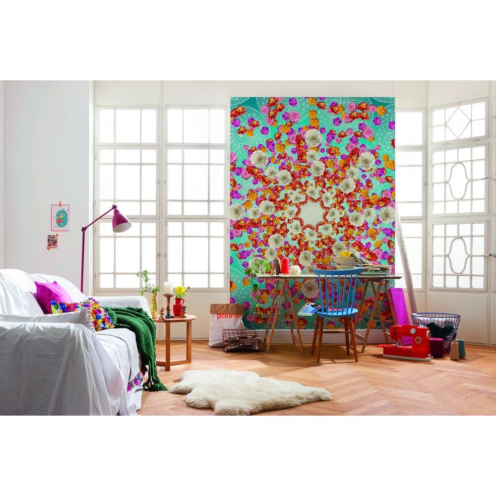 100 in. H x 72 in. W Happiness Wall Mural