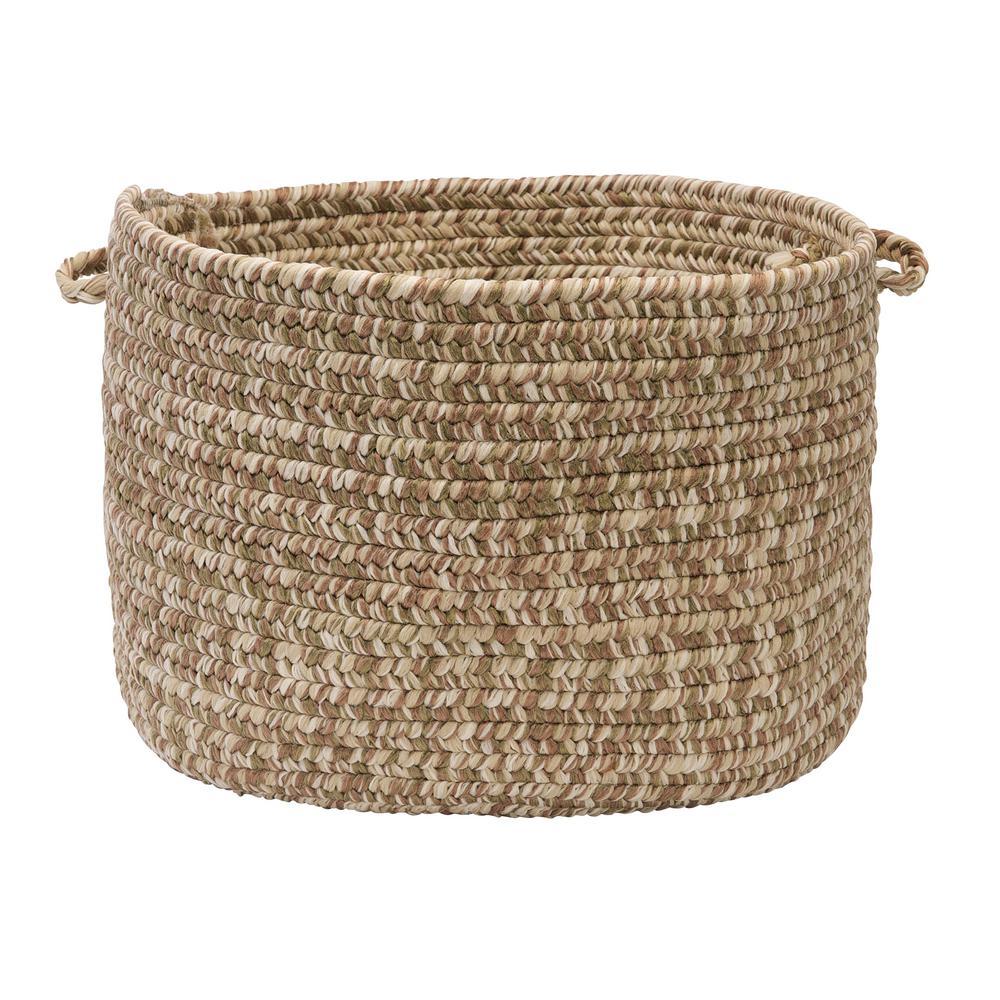Tweed Storage Round Polypropylene Basket