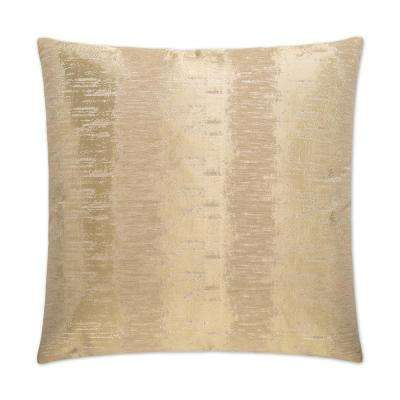 Brilliant Feather Down 24 in. x 24 in. Standard Decorative Throw Pillow