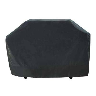 70 in. Premium Large Grill Cover - Black