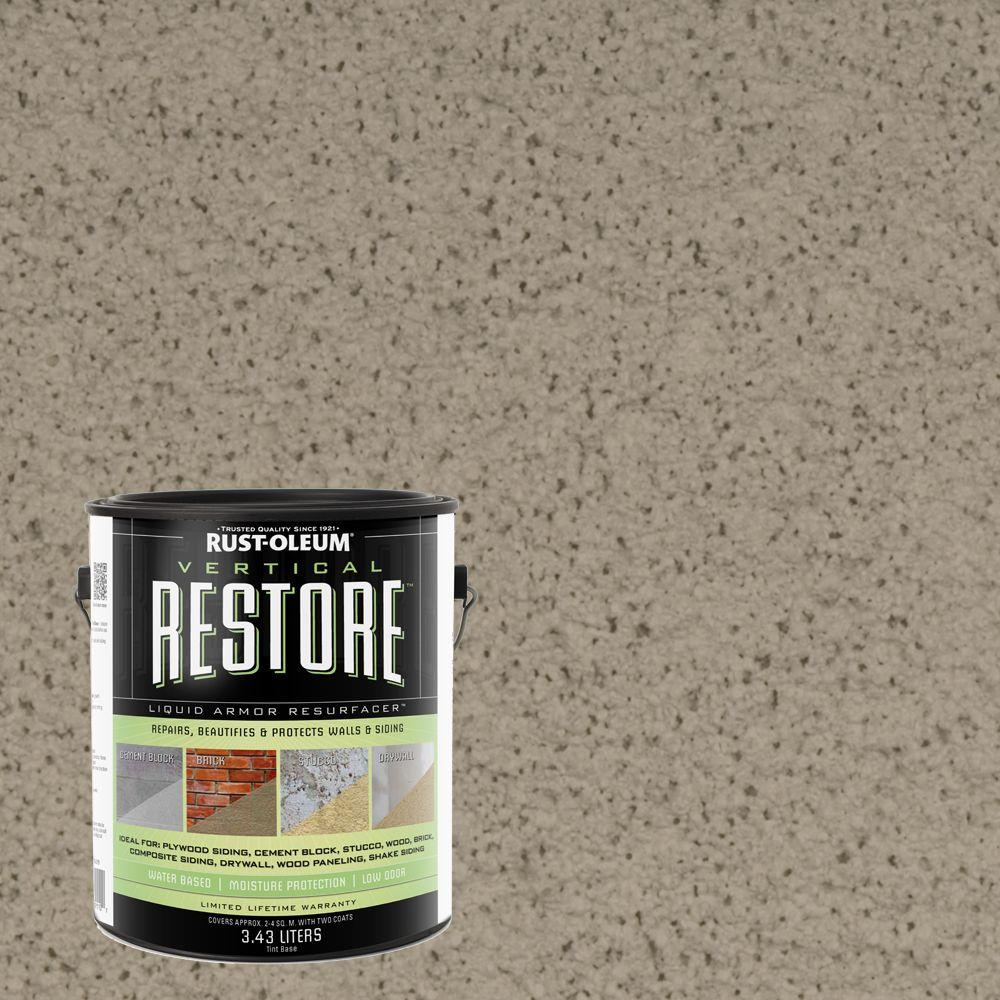 1-gal. Brownstone Vertical Liquid Armor Resurfacer for Walls and Siding