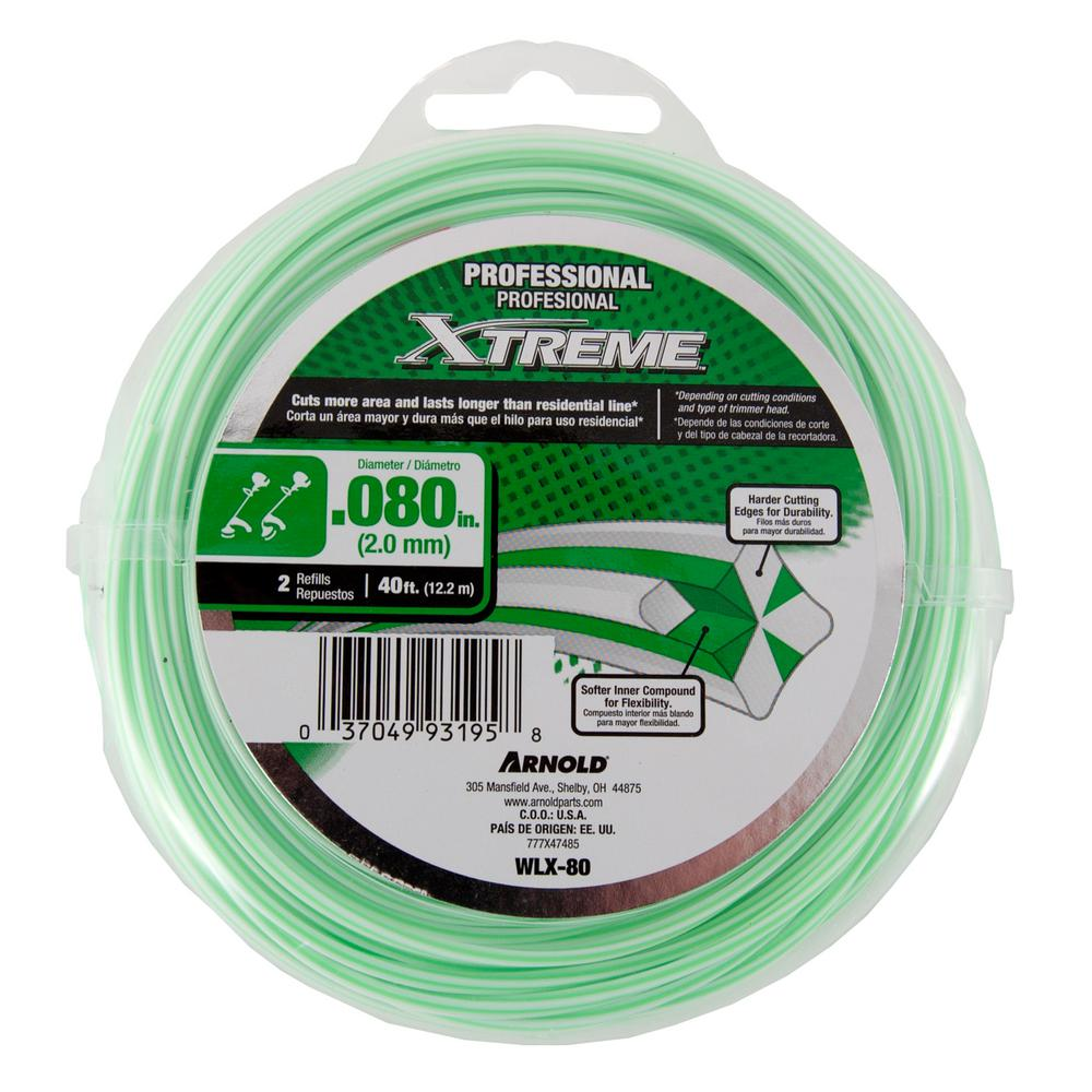 """Weed Warrior Yard Gear .080/"""" Replacement Bump Head Spool /& Trimmer Line NEW!"""