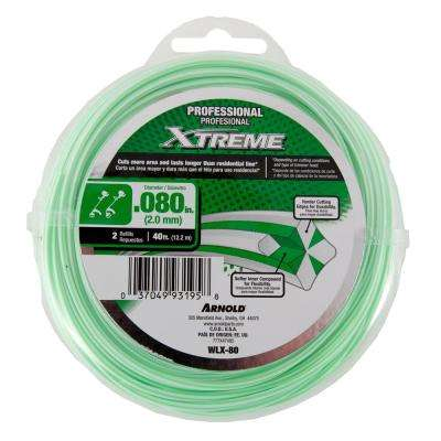40 ft. Professional 0.080 in. Trimmer Line for Straight and Curved Shaft String Trimmers