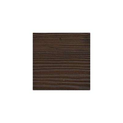 6 in. x 6 in. Sandstone Espresso Endurathane Faux Wood Ceiling Beam Material Sample