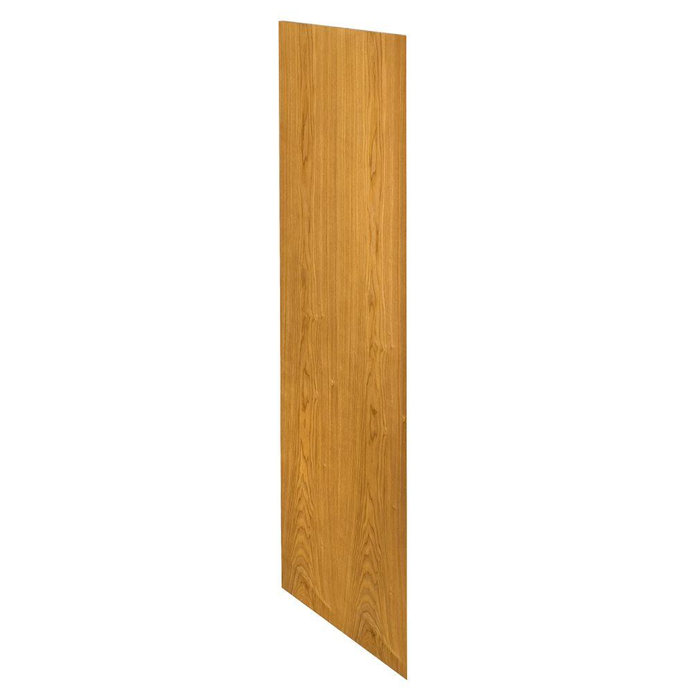 Home Decorators Collection Weston Assembled 23.25 x 24 x .25 in. Wall Skin in Light Oak