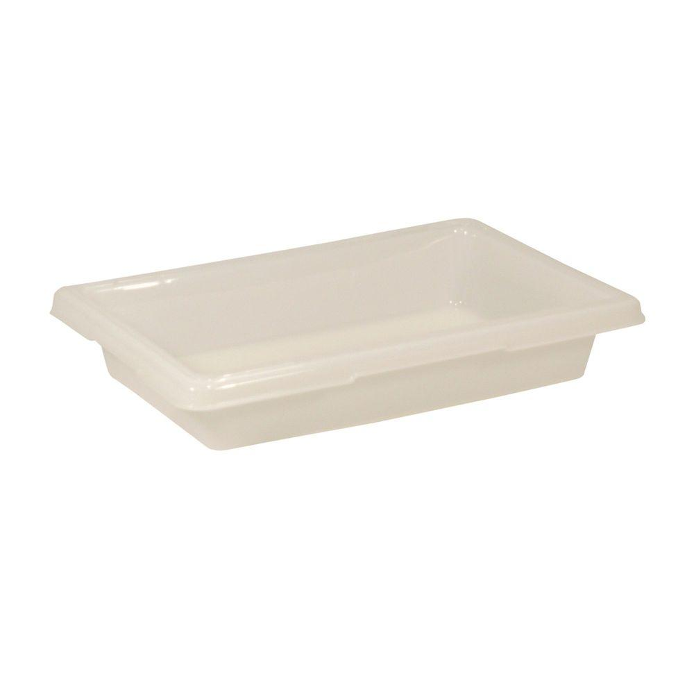 Rubbermaid Commercial Products 2 Gal. White Food Storage Box  sc 1 st  The Home Depot & Rubbermaid Commercial Products 2 Gal. White Food Storage Box ...