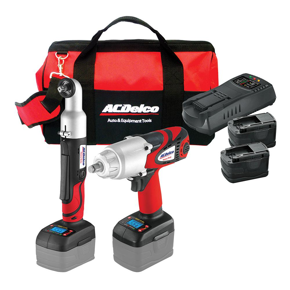 18-Volt Li-ion 2-in-1 Impact Wrench Combo Kit