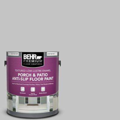 1 gal. #T15-6 Dreamscape Gray Textured Low-Lustre Enamel Interior/Exterior Porch and Patio Anti-Slip Floor Paint
