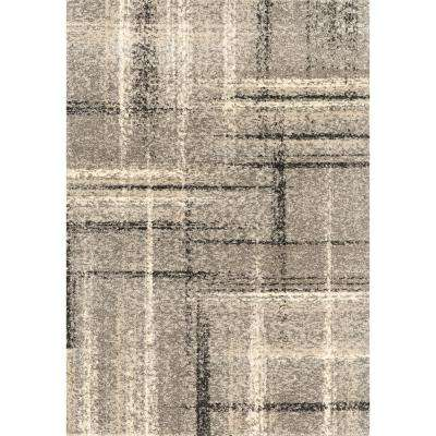 Serenity Mirage Grey 2 ft. 7 in. x 4 ft. 2 in. Accent Rug