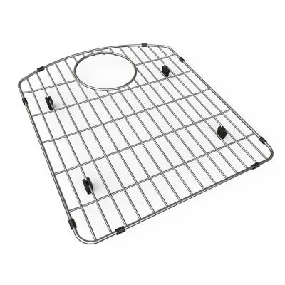 Stainless-Steel Kitchen Sink Bottom Grid Fits Bowl Size 17-3/16 in. x 19-5/16 in.