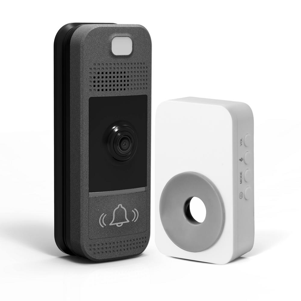 Westinghouse Wireless Video Door Bell Kit with Wireless Chime and Slim Design