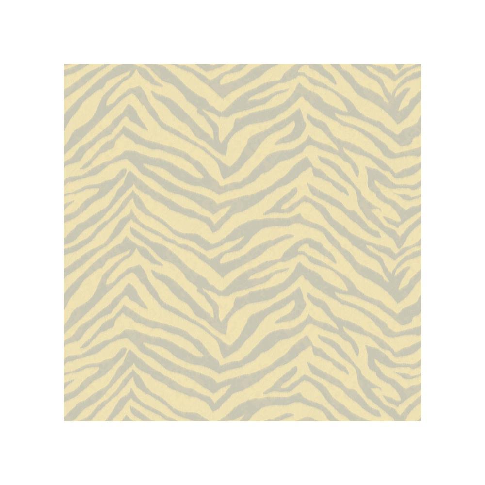 Mia Peach Faux Zebra Stripes Wallpaper