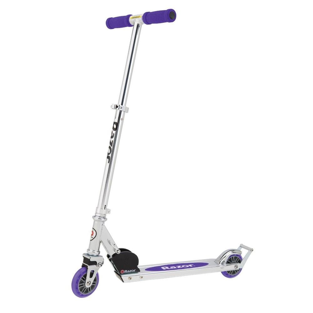 null A2 Scooter in Purple