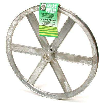 12 in. x 3/4 in. Evaporative Cooler Blower Pulley