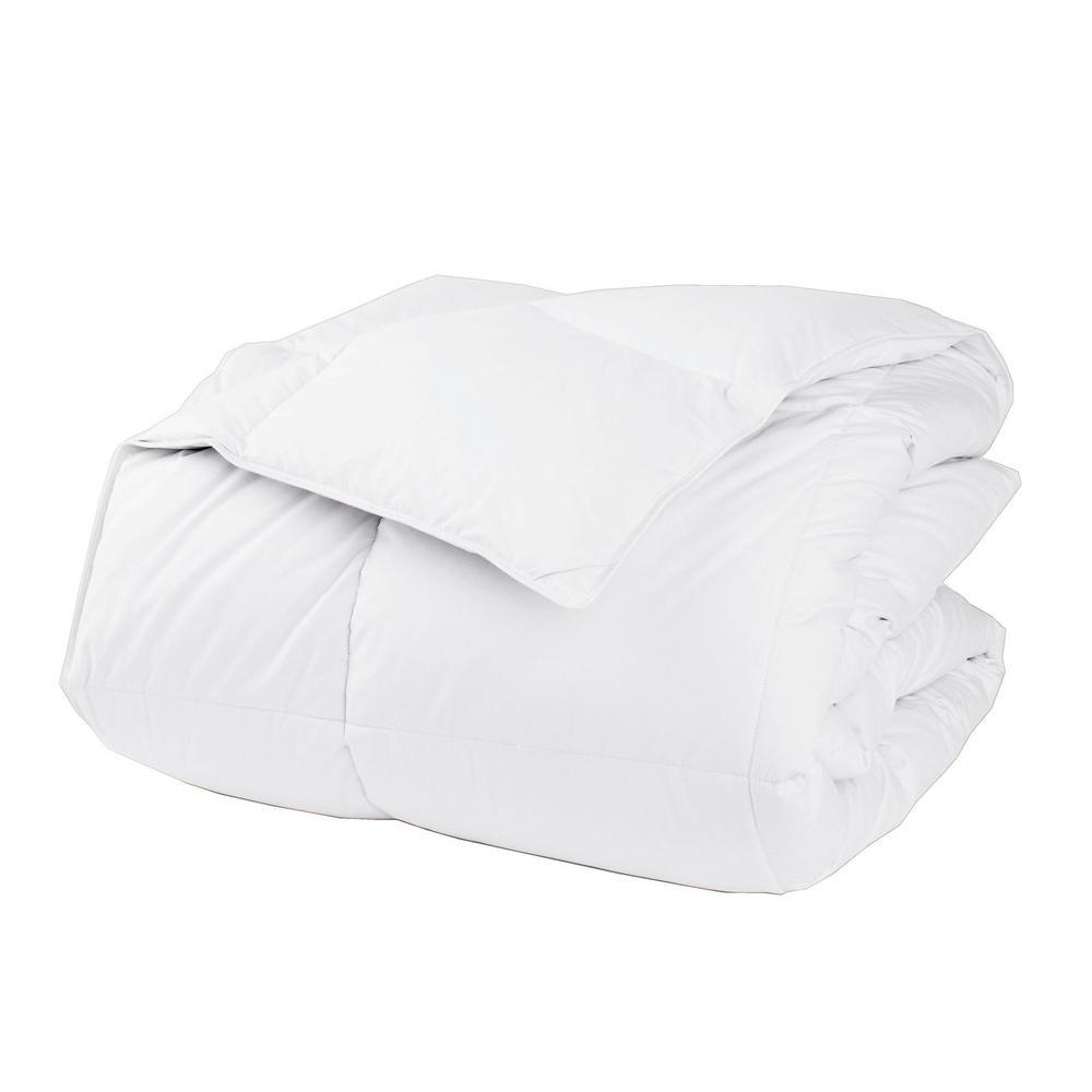 LaCrosse LoftAIRE Light Warmth White Queen Down Alternative Comforter