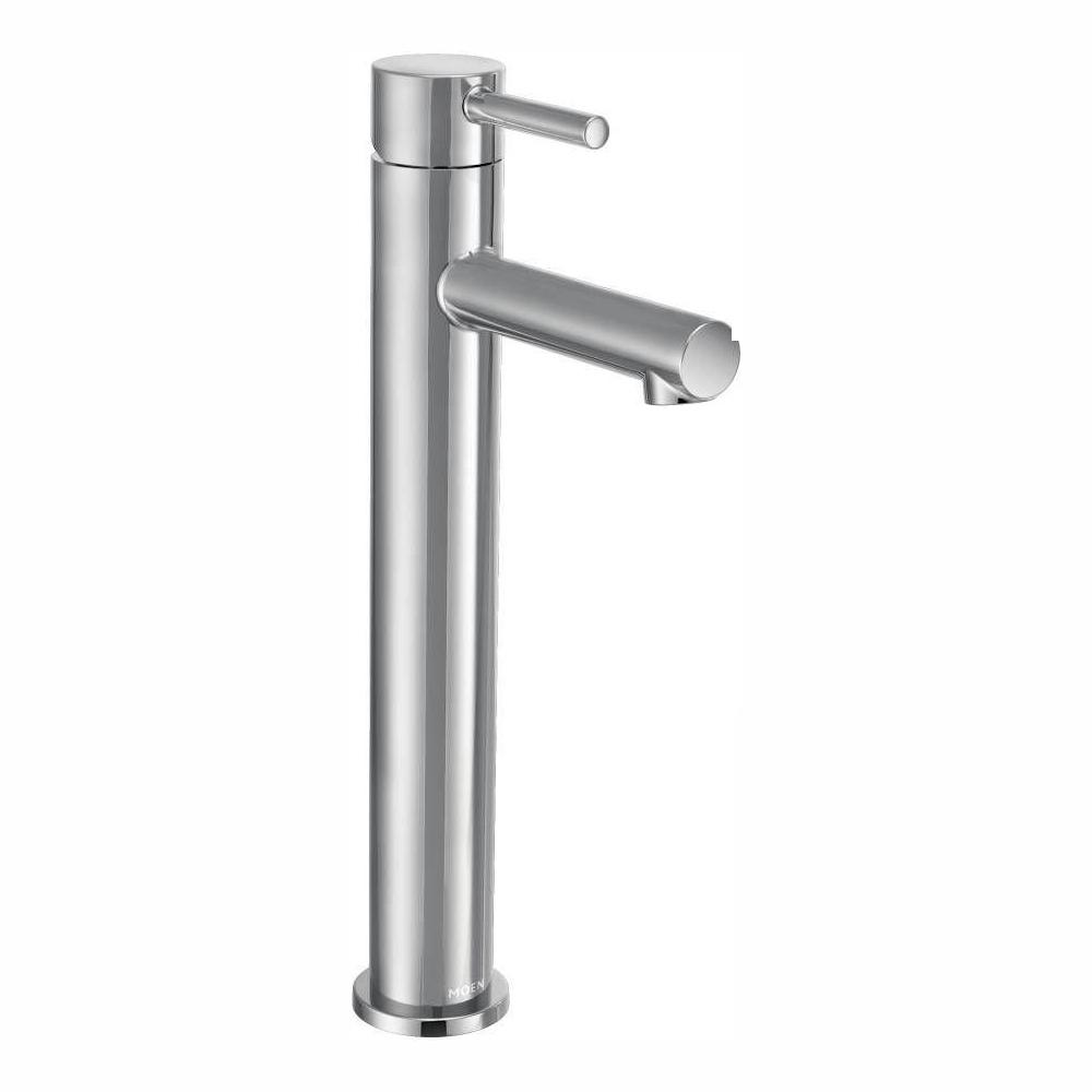 MOEN Align Single Hole Single-Handle Vessel Bathroom Faucet in Chrome