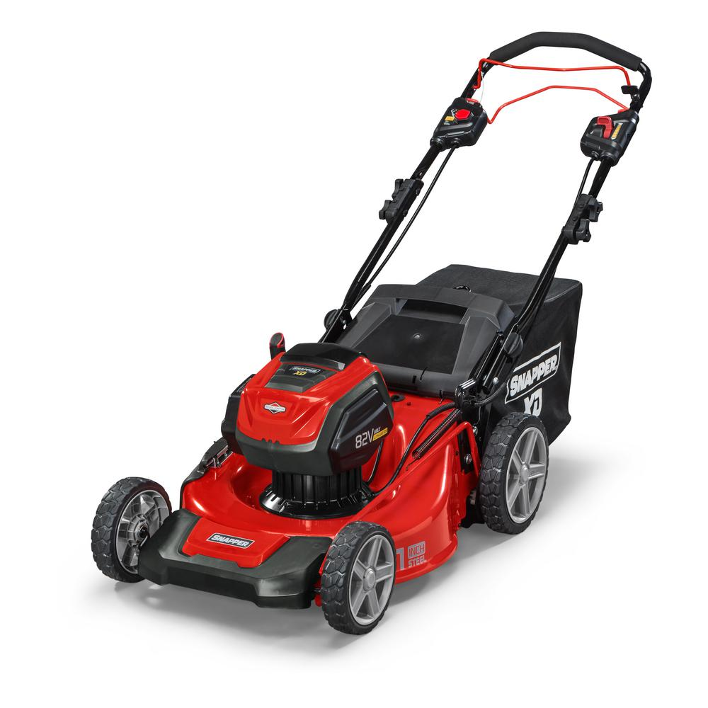 Snapper Xd 21 In 82 Volt Battery Power Self Propelled Walk Behind Charger Lithium Variable Current Up To 2a By L200 Lawn Mower